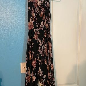 Charlotte Russe black flower dress
